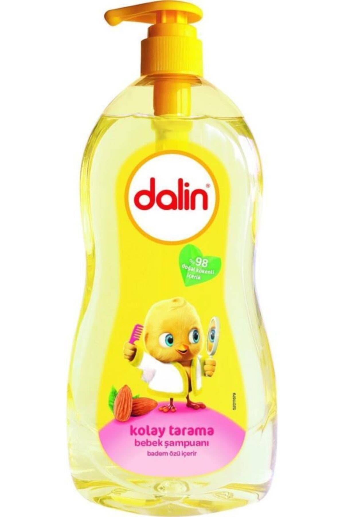 Dalin Badem Özlü Kolay Tarama Bebek Şampuanı 400 ml 1
