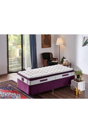 Niron Yatak Niron Purple 80x180 Tek Kişilik Pedli Yatak Full Ortopedik Yaylı Yatak