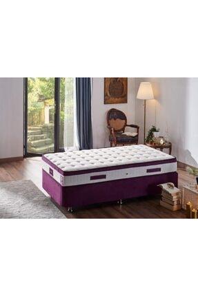 Niron Yatak Niron Violet 80x180 Tek Kişilik Gizli Pedli Yatak Full Ortopedik Yaylı Yatak