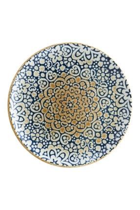 Bonna Porselen Alhambra Gourmet 12 Parça Düz Tabak 19 Cm
