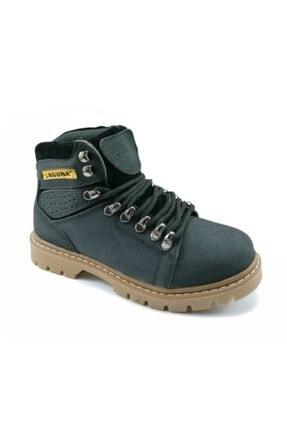 Laguna Unisex Siyah Kışlık Trekking Bot Ayakkabı