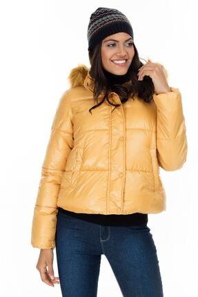 Vero Moda Kadın Sarı Mont 10218378