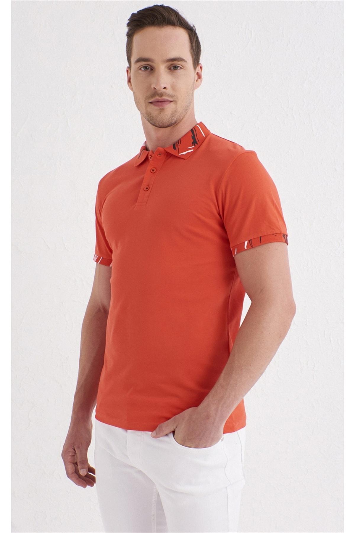 Efor TS 755 Slim Fit Mercan Spor T-Shirt