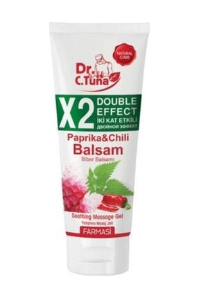 Farmasi Dr. C. Tuna X2 Double Effect Paprika Chili Biber Balsamı Masaj Jeli 250 ml