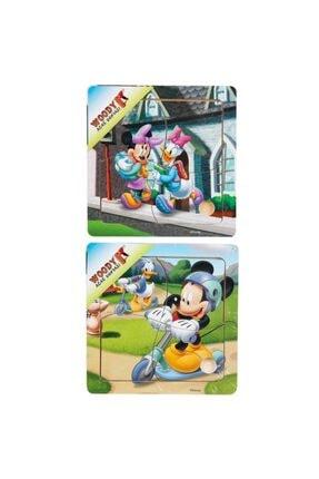 Sunman Mickey Mouse Temalı Ahşap Puzzle
