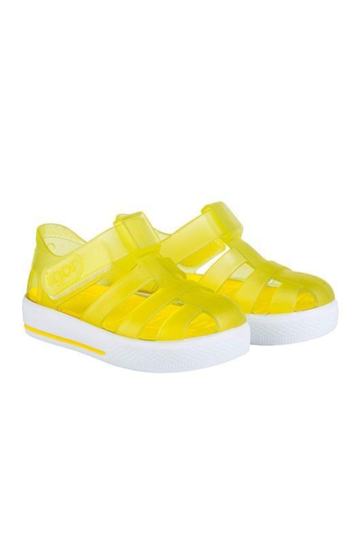IGOR Unisex Çocuk Sarı Deniz Ayakkabısı 1