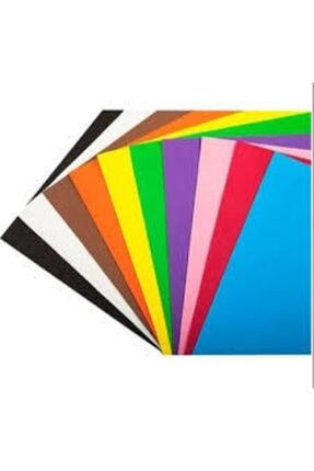 Cool Karışık Renkli Fon Kar Renkli Fon Kartonu | 50x70 cm 10'lu Rulo