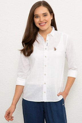 U.S. Polo Assn. Kadın Gömlek G082SZ004.000.982151