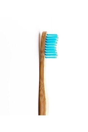 Humble Brush Bambu Mavi Renk Yetişkin Diş Fırçası