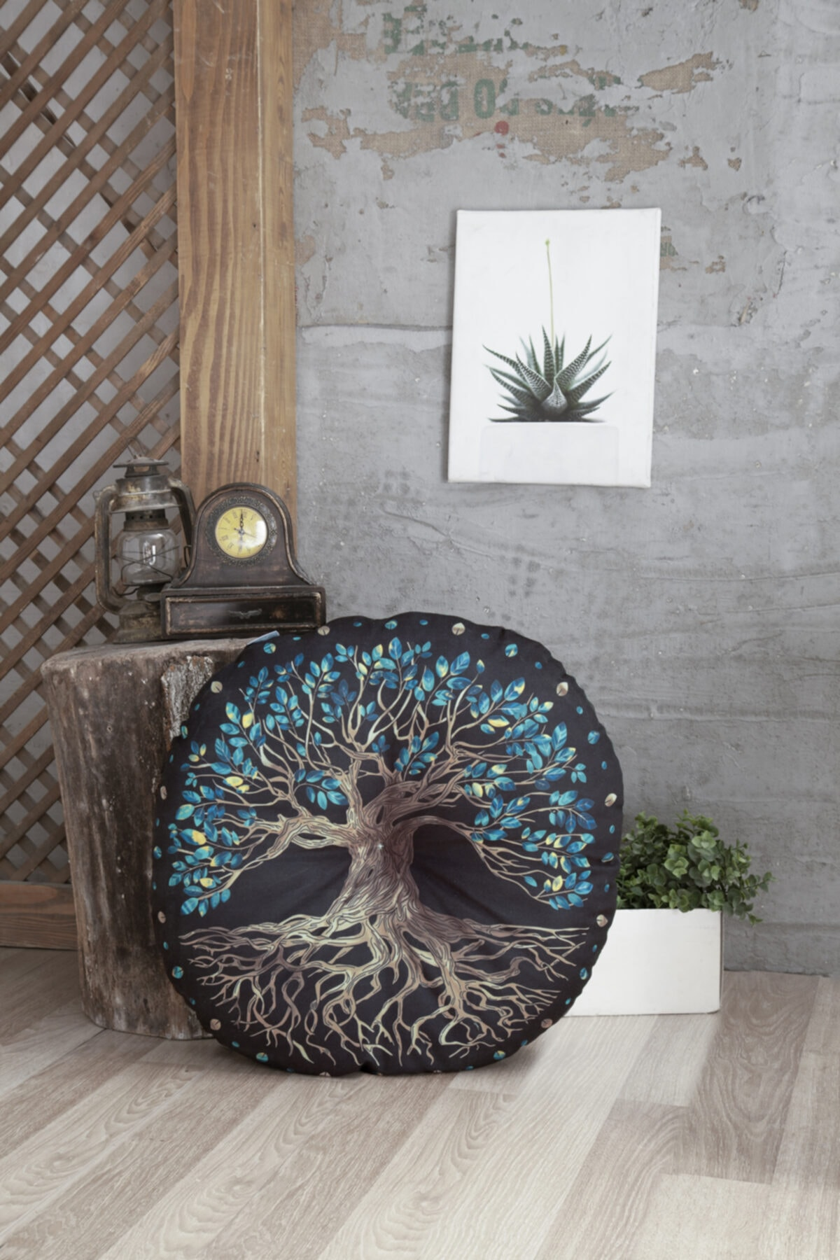 Home&Bath Dekoratif Yer Minderi Yggdrasill 1