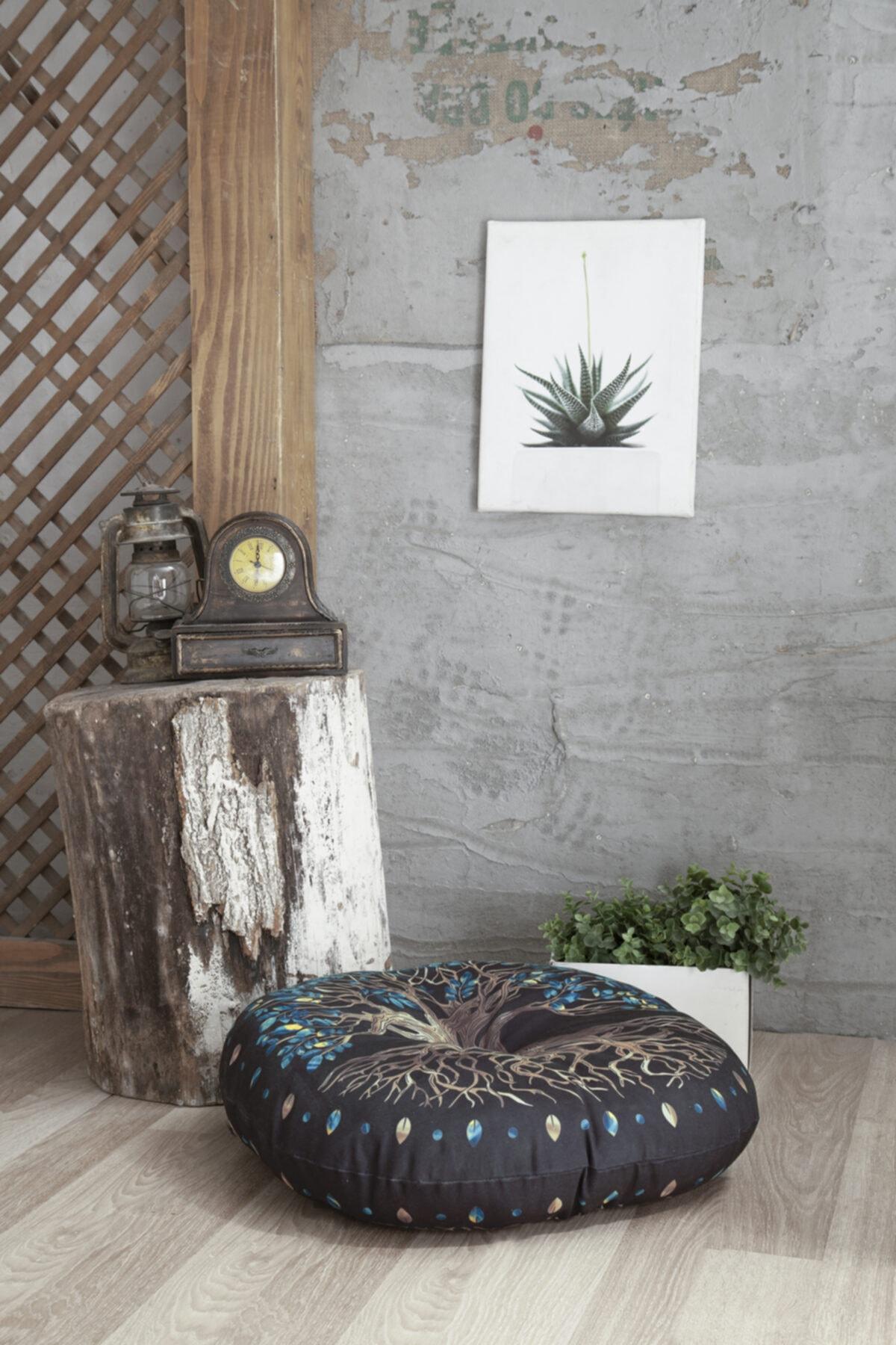 Home&Bath Dekoratif Yer Minderi Yggdrasill 2