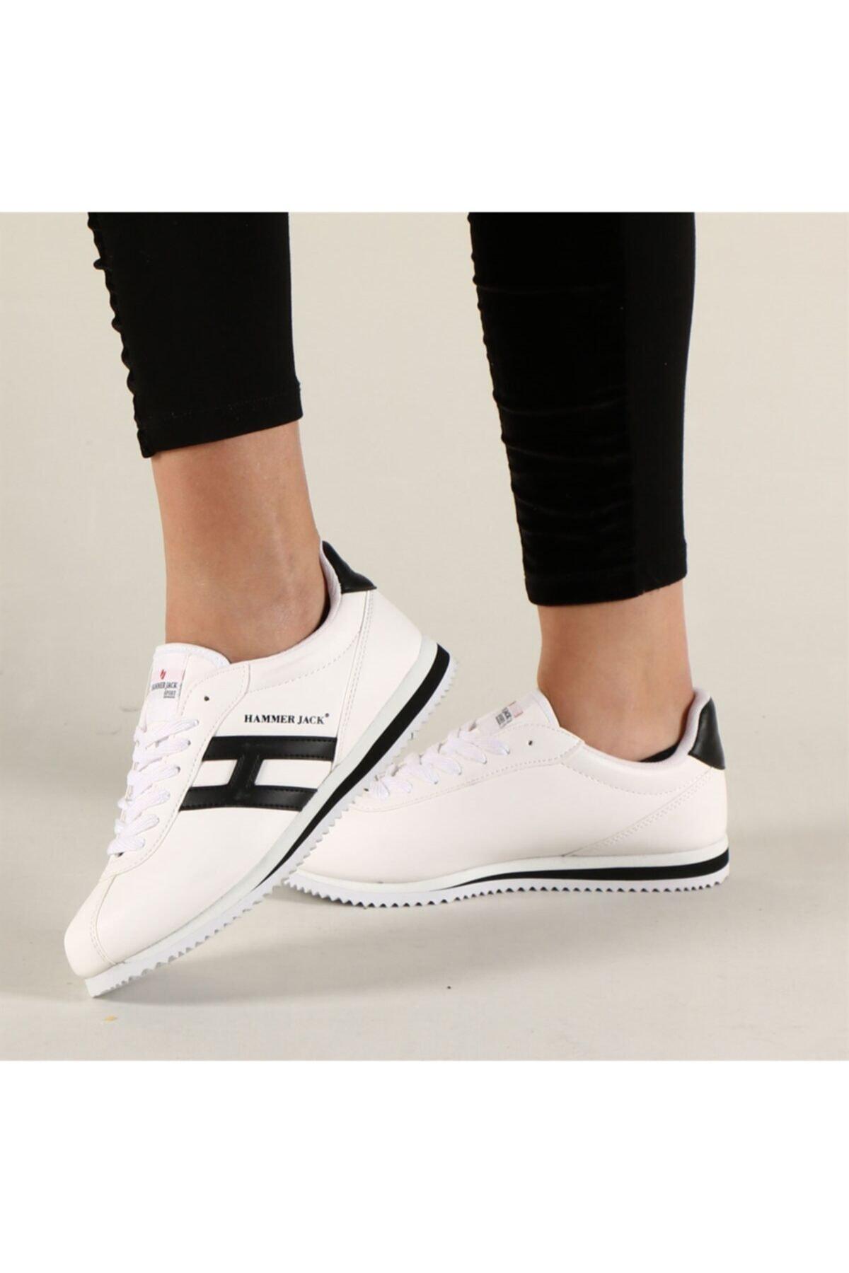 Hammer Jack Kadın Beyaz Sneakers Shoes Butik 1