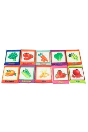 BABYCİM Meyve ve Sebze Temalı Eğitici Kartlar