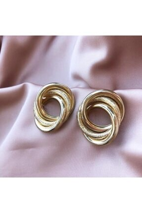 LEO Gold Tasarım Küpe