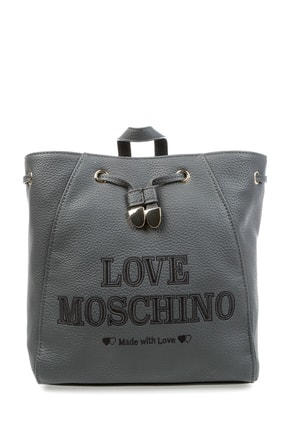 Love Moschino Gri Kadın Omuz Çantası 503769865