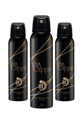 Viva Cappio Bayan Deodorant 150 Ml X3