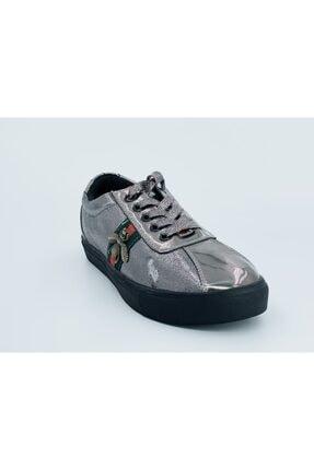 Guja Kadın Gümüş Sneaker Ayakkabı 18v421-1