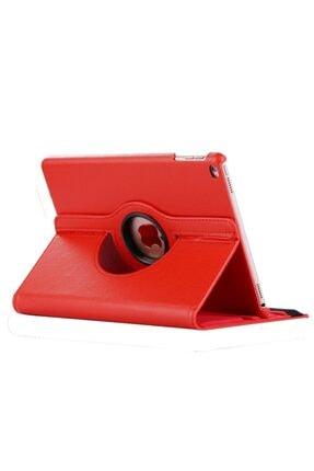 MOBAX Kırmızı Apple Ipad 6 Nesil 9.7 2018 Dönebilen Standlı Case Kılıf  A1893 A1954