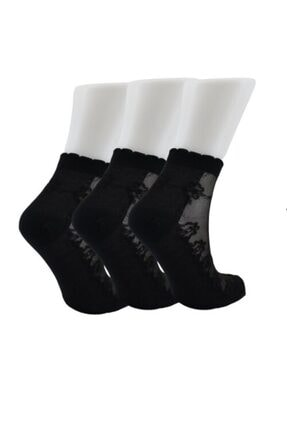 Tutku Simli Patik Çorap 6'lı