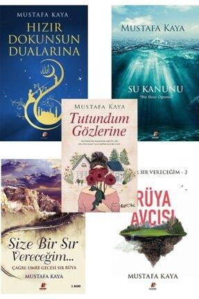Fenomen Kitap Mustafa Kaya Kitap Seti (su Kanunu, Hızır Dokunsun Dualarına, Size Bir Sır Vereceğim, Rüya Avcısı)