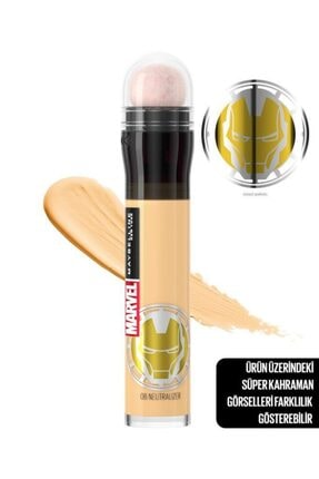Maybelline New York Marvel Collection Kapatıcı - Instant Age Eraser Concealer 06 Neutralizer 3600531618469