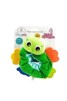BABYCİM Hışırtılı Bileklik Dişlik - Kurbağa