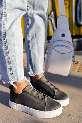 Chekich Kadın Antrasit Ch013 Bt Ayakkabı