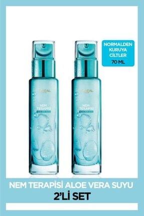 L'Oreal Paris L'oréal Paris Nem Terapisi Aloe Vera Suyu Normalden Kuruya Ciltler Için 2'li Set