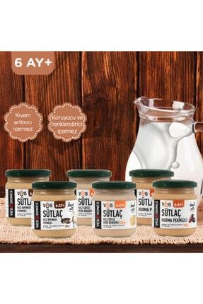 Veg&Bones Bebek Ve Cocuk Sütlaçları Mıx Paket 12 Adet