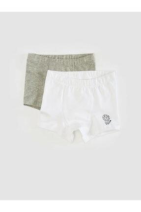 LC Waikiki Erkek Çocuk Optik Beyaz E5X Boxer