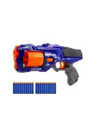 Nerf Mavi Mermi Atan Revolver Oyuncak Tabanca