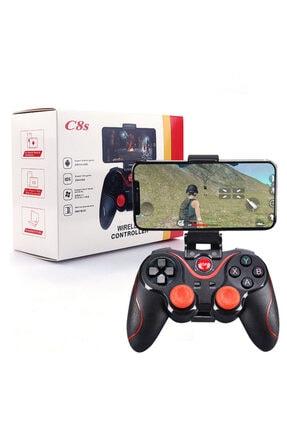 PUBG C8s Wireless Kablosuz Oyun Kolu Bluetooth Joystick Gamepad