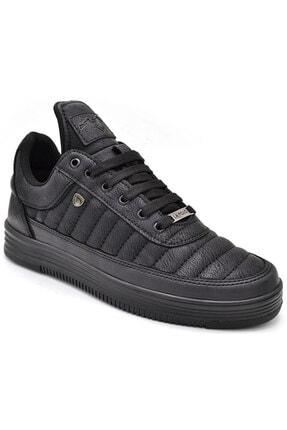 L.A Polo 07 Siyah Siyah Sneaker Erkek Spor Ayakkabı
