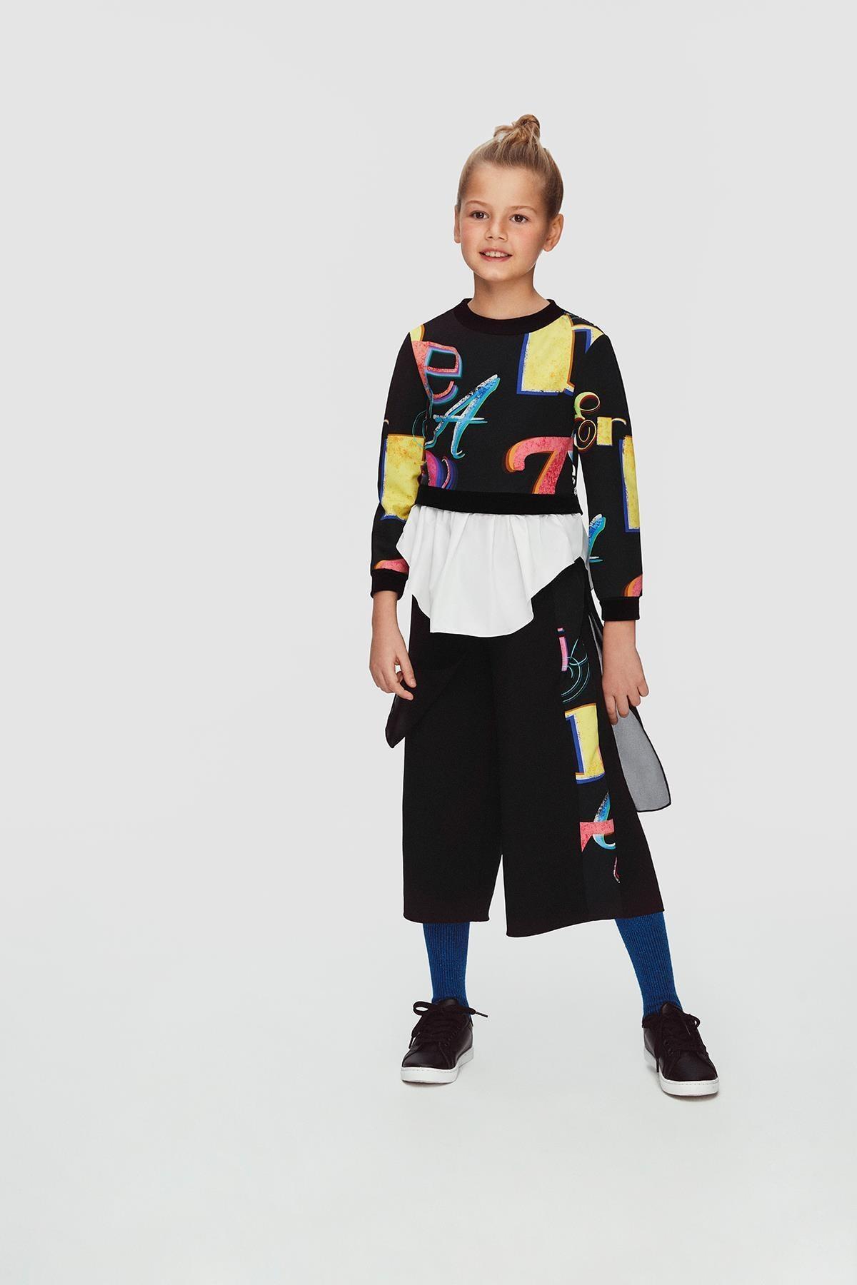 Lia Lea Kız Çocuk Siyah Pantolon 20FWLL08153 1