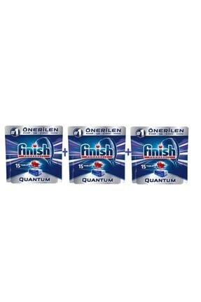 Finish Quantum 15 'lli Bulaşık Tableti 3 Adet