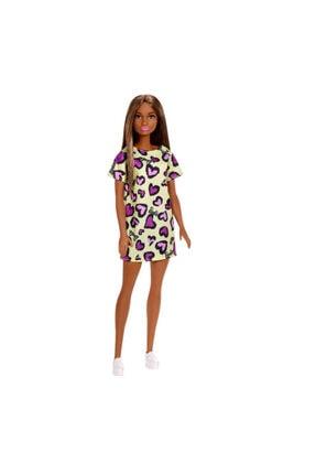 Barbie Şık Bebekler Kalpli Elbiseli Bebekler T7439