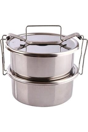 Doğuş Mutfak Sefer Tası Yemek Kabı Saklama Kabı Termos No:1 2'li 12x6 Cm