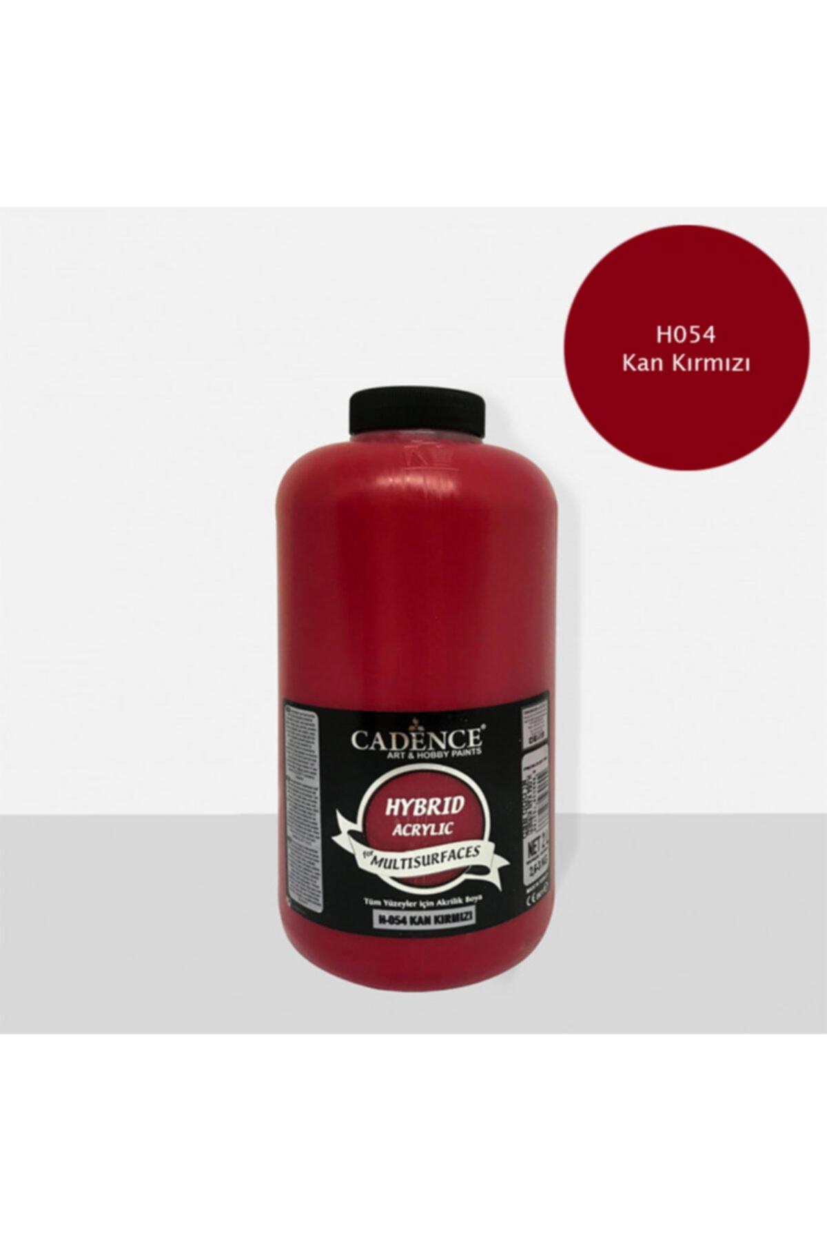 Cadence H-054 Kan Kırmızı 2 Litre Multısurface Hybrıd Akr. 1