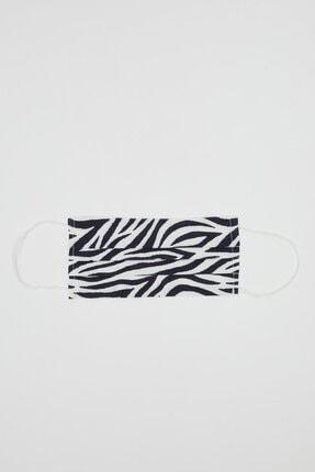 DeFacto Zebra Desenli Yıkanabilir Maske