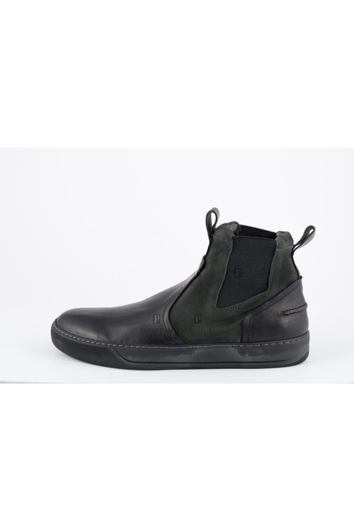 Lanvin Erkek Siyah Chelsea Boots 1