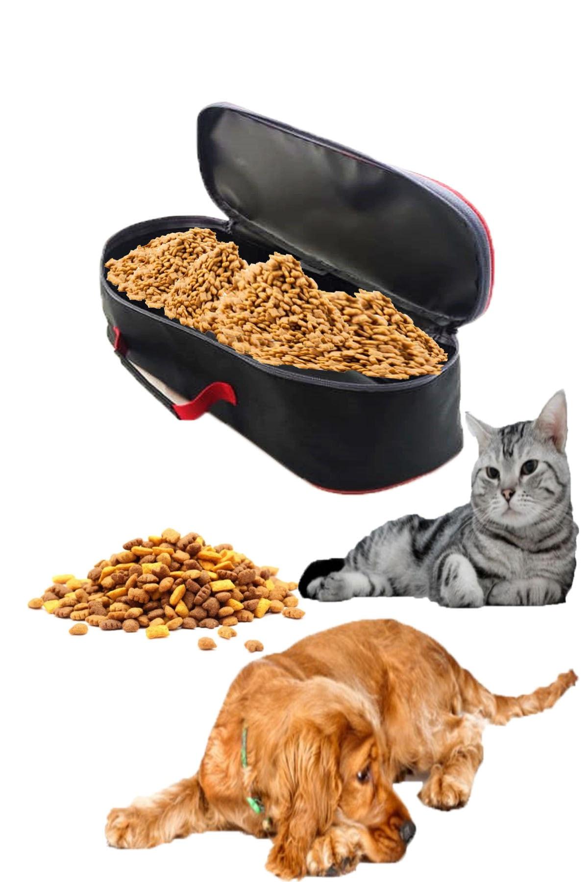 Carneil Evcil Hayvan Kedi Köpek Mama İlaç Eşya Oyuncak Saklama Taşıma Çantası 2