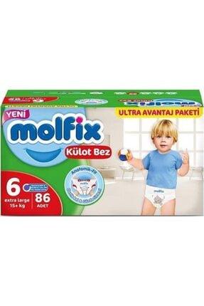 Molfix Pants Külot Bez 6 Numara 86 Adet Ultra Avantaj Paketi