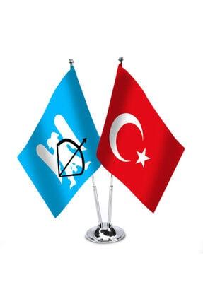 Asilmeydan Büyük Selçuklu Imparatorluğu Ve Türkiye - Ikili Masa Bayrağı