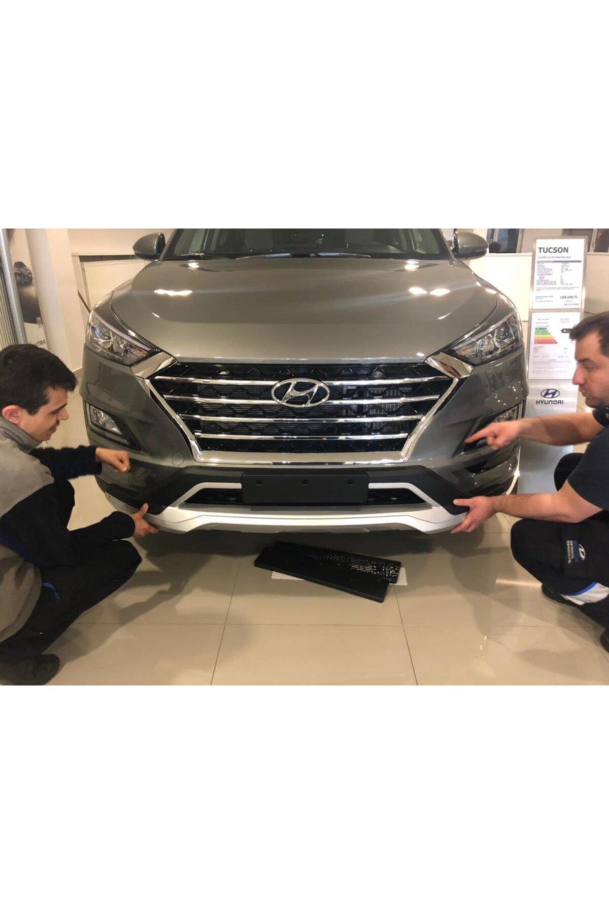 AEM Hyundai Tucson Ön Arka Tampon Koruması Difüzör 2018 2019 2020 1.6 2