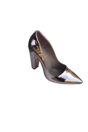 PUNTO 579034 Abıye Bayan Kalın Topuk Ayakkabı