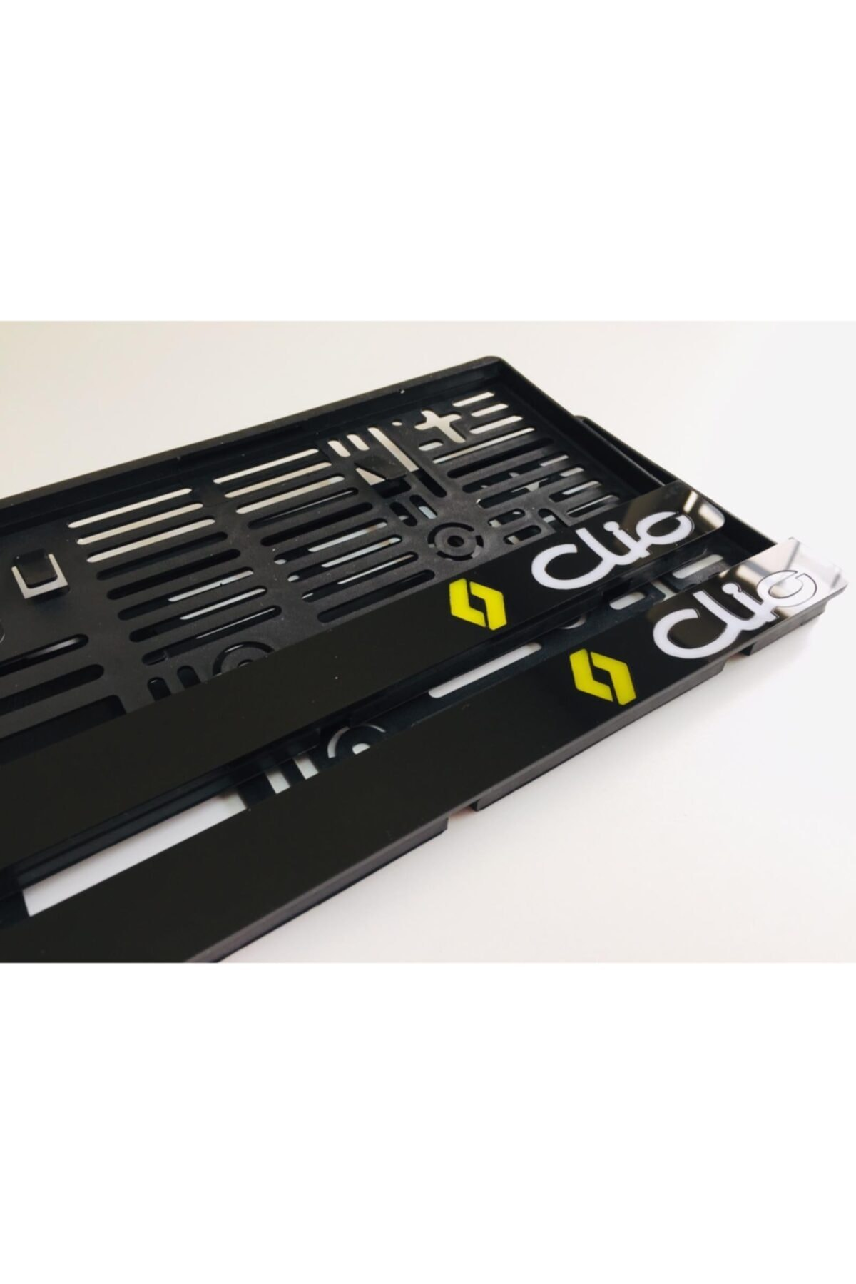 3M Renault Clio Takmatik Pleksi Plakalık 2