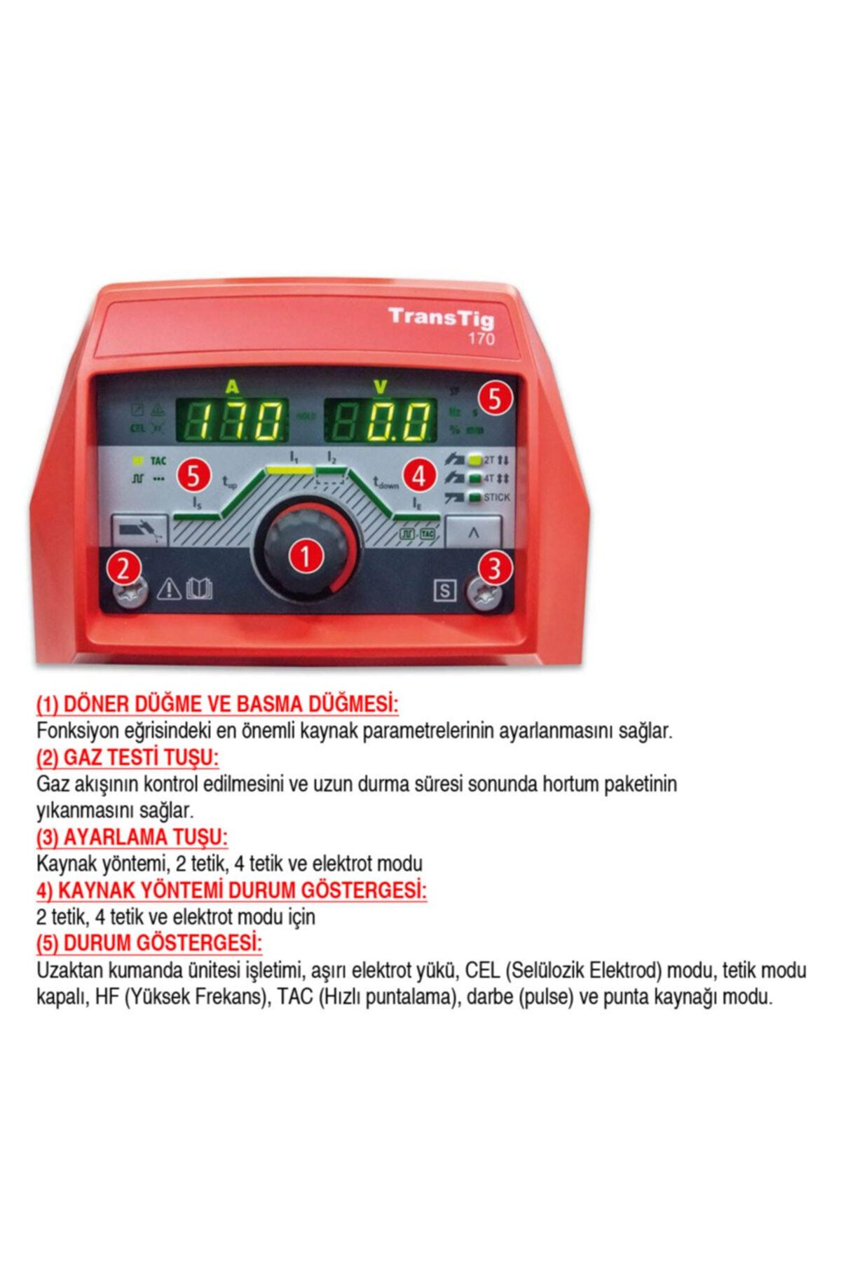 Fronius Transtig 210 - Dc Tip Tıg Kaynak Makinesi 2