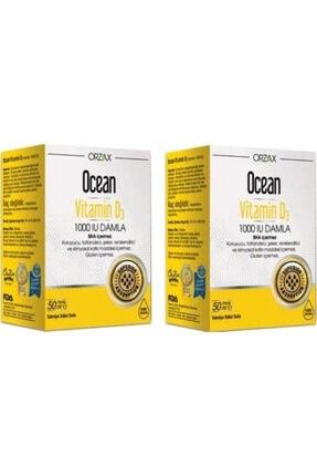 Ocean Vıtamın D3 1000/ 50 Ml X 2 Ad.