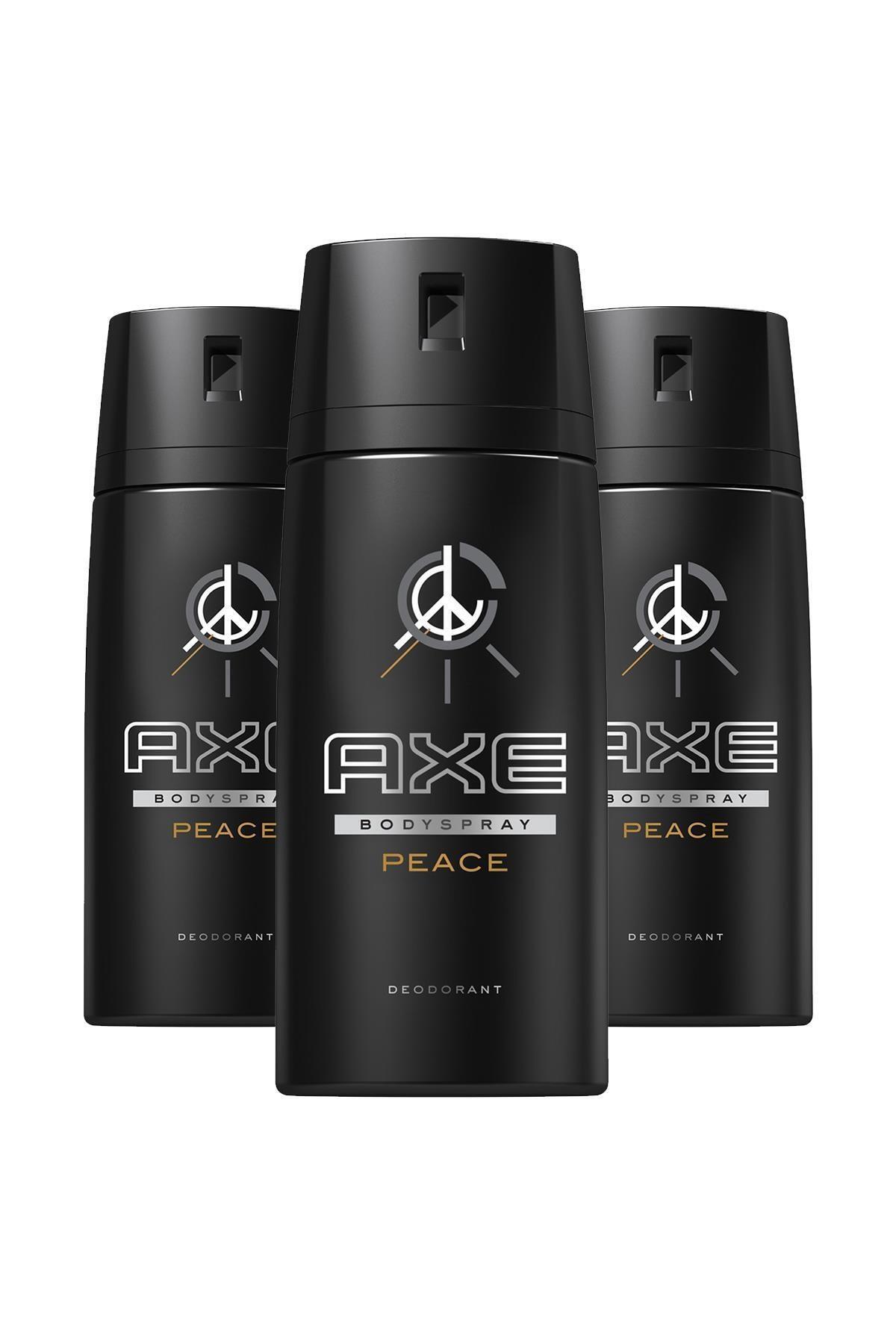 Axe Erkek Deodorant Sprey Peace 150 Ml X3 1