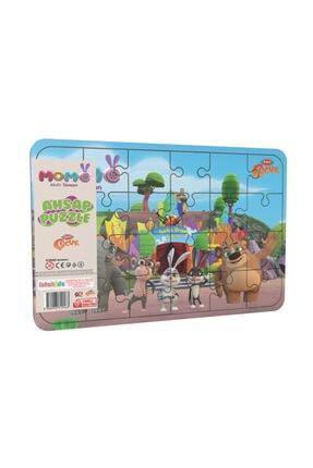 istakids Akıllı Tavşan Momo Ahşap Puzzle Model 1